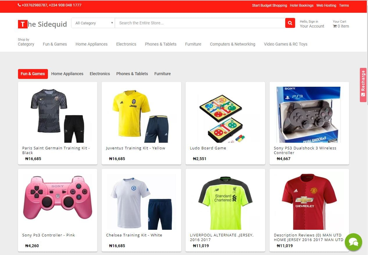 Start an eCommerce business in Nigeria