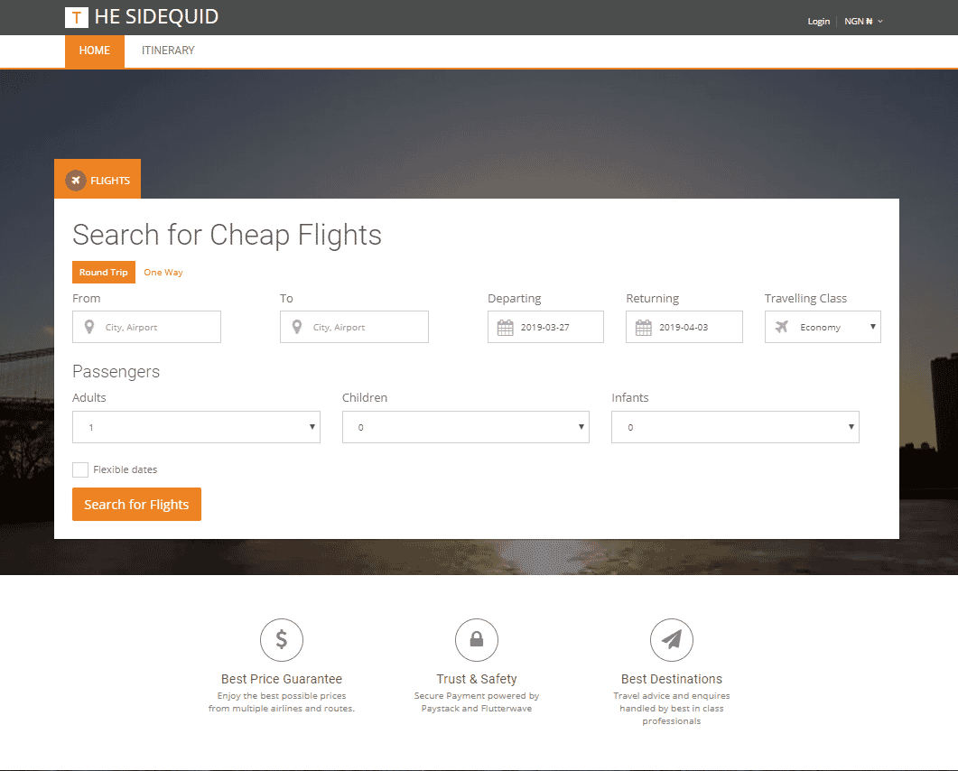 Make money online from Selling Flight tickets