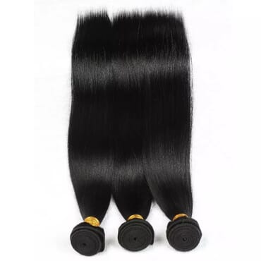 Brazilian Straight Hair Weave Bundles.