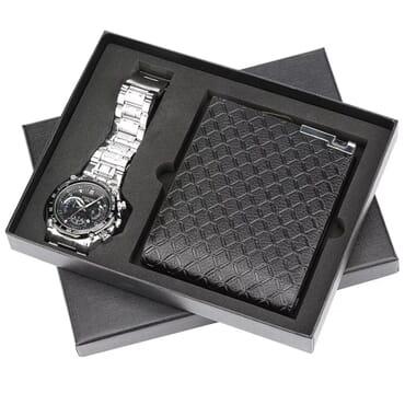 Men's watch gift set