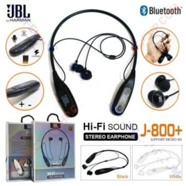 Handsfree Headphone Earphone Headset Bluetooth Jbl J800 Slot
