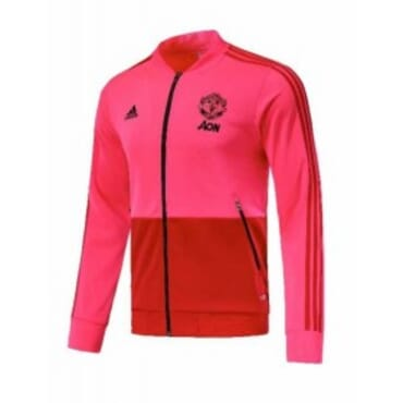 MANCHESTER UNITED ANTHEM JACKET-PINK