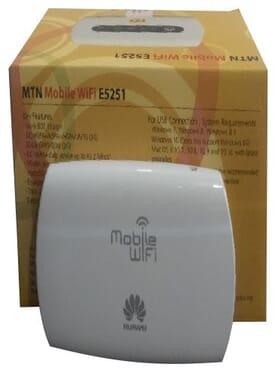MTN 3G mobile wifi Huawei ES251-2 for all 3G Networks