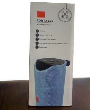 T & G PORTABLE POWER BLUETOOTH SPEAKER