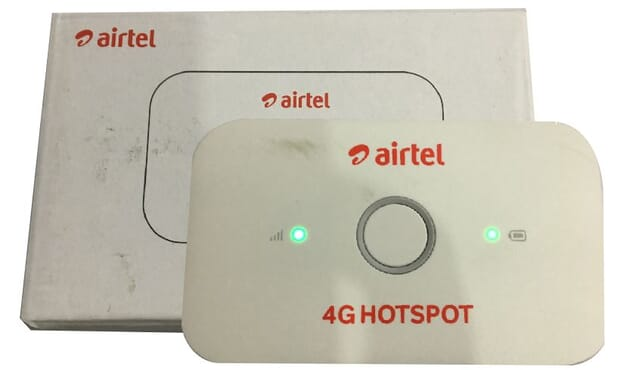 4G LTE Universal Airtel Mobile WiFi Huawei Model E5573cs-609