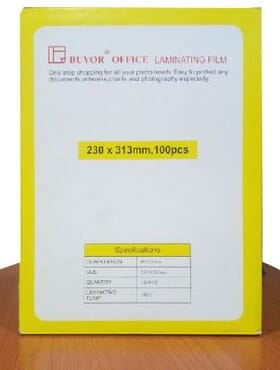 BUYOR OFFICE LAMINATING FILM 230X313mm