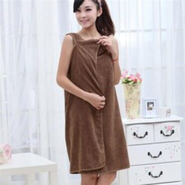 Bath Robe - Brown