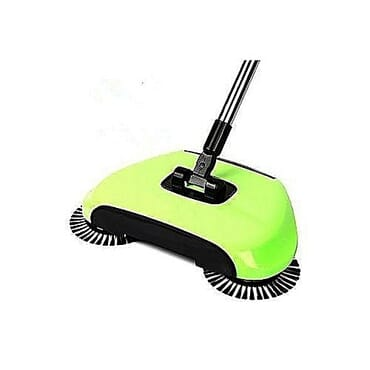 Generic Magic Sweeper 360 Degree Rotation Spin Broom!! Hand Push Hard Floor Sweeping Device - For Home & Offices (NO Electricity/Noise)