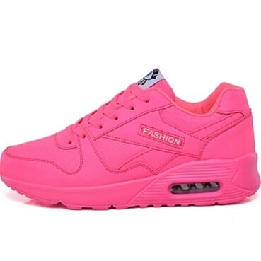 Fashion Women Sneakers - Fucial Pink