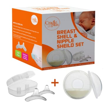 Breast Shell and Nipple Shield Set | Pack of 5