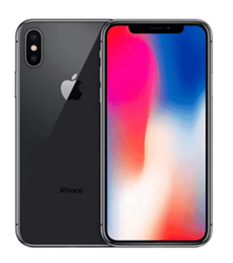 Apple iPhone X - 64GB - Space Gray - 1 Year Warranty