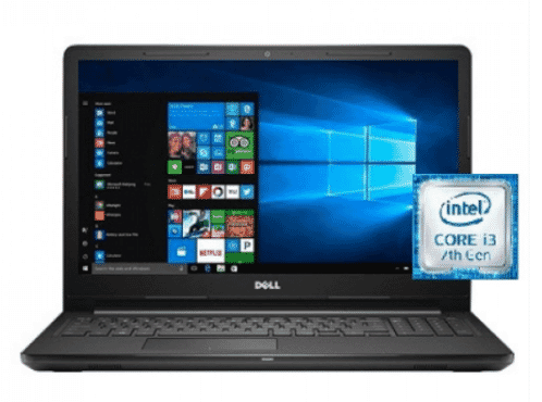 Dell Inspiron 3567 – 3629 Intel Core I3 Laptop 15 Inch 8 GB RAM 1 TB Hard Drive – Black