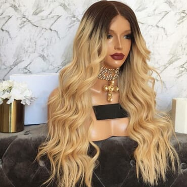 Full Lace Brazilian Hair Wig.
