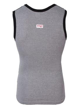 Banana Gym Vest Lite Grey T-Shirt M