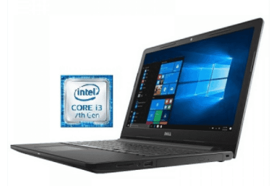 Dell Inspiron I3567 – 3276 Intel Core I3 Laptop 15.6 Inch 8 GB RAM 1 TB Hard Drive – Black