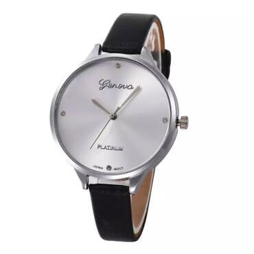 Geneva Wristwatch-Black
