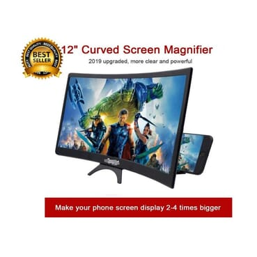 12inches Screen 3D Curve Screen Magnifier For All Smart Phone