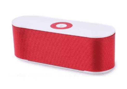 Universal Chef Mini Bluetooth Speaker S207 - Red