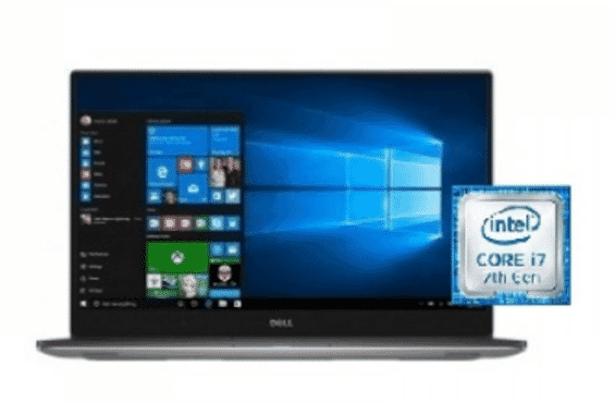 Dell XPS9560-7001 Intel Core I7 Laptop 15.6 Inch 16 GB RAM 512 GB Solid State Drive – Silver