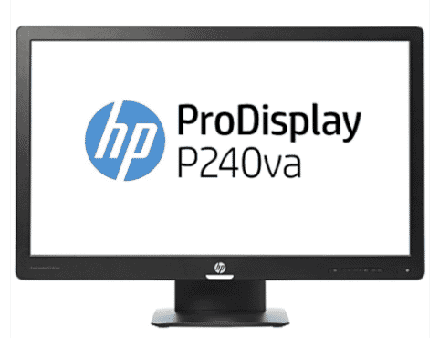 HP ProDisplay P240va Brilliant High Resolution 24
