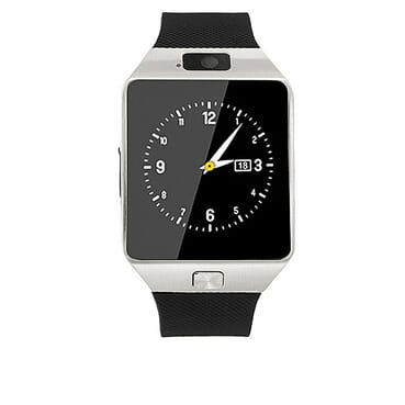 Generic DZ09 GSM SIM Bluetooth Smart Watch - Silver