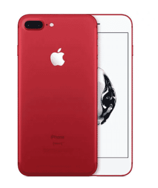 Apple iPhone 7 Plus -Red - 256GB