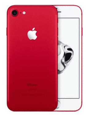 Apple Iphone 7 -red - 128gb