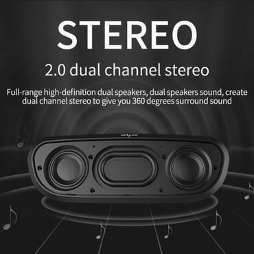 Zealot Zealot S9 Wireless Bluetooth Speaker Black