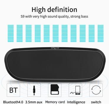 Zealot Zealot S9 Wireless Bluetooth Speaker Black