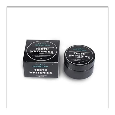Activated Natural Organic Charcoal Teeth Whitening Dental Powder
