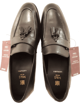 Marks & Spencer Leather Tassel Loafers