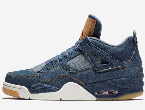 AIR JORDAN-4 RETRO DENIM