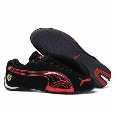 PUMA FUTURE CAT LEATHER SF SUEDE | BLACK RED