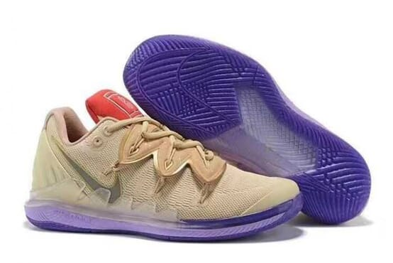 KYRIE 5-EP SNEAKERS CREAM-PURPLE