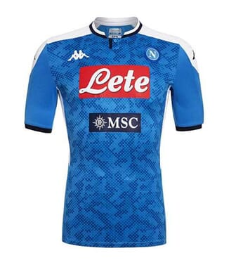 OFFICIAL SSC NAPOLI 2019/2020 SKY BLUE HOME MATCH SHIRT