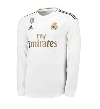 REAL MADRID HOME-SHIRT LONG-SLEEVE