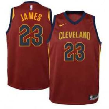 CLEVELAND CAVALIERS BASKETBALL-JERSEY WINE