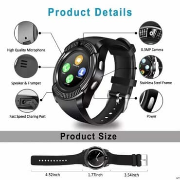 V8 Android Smartwatch
