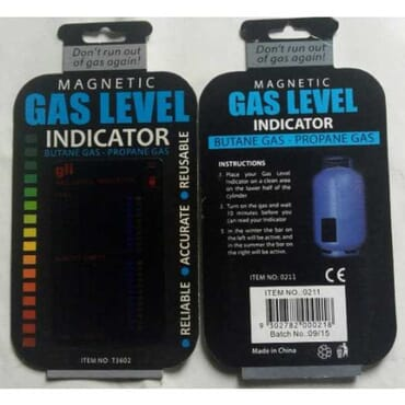 Gas Cylinder Level Indicator