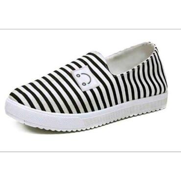 Fashion By LV Female Plimsoll Shoes - Black