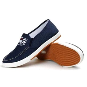 Fashion By LV Denim Shoes - Blue