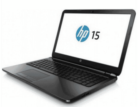 HP 15 Intel Celeron 500GB HDD, 4GB RAM, Windows 10