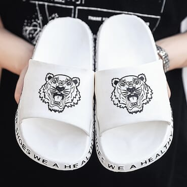 Men Slides Casual Slippers