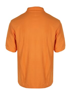 PLAIN POLO T-SHIRT ORANGE