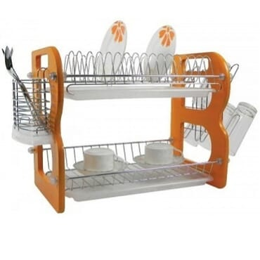 16 Plate Rack- 2 Tiers