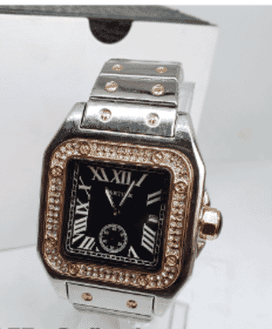 Men's Cartier Exotic Roman Wrist Watch