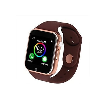 A1 Smartwatch A1 Smartwatch With SIM Card & Memory Card Camera Anti-lost Sound Recorder Alarm Pedometer Sleep Monitor - Brown
