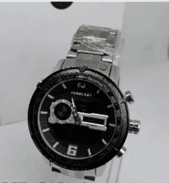 Men's Forecast Digital And Analog Wrist Watch