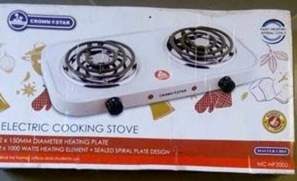 New Master Chef Electric Cooking Stove