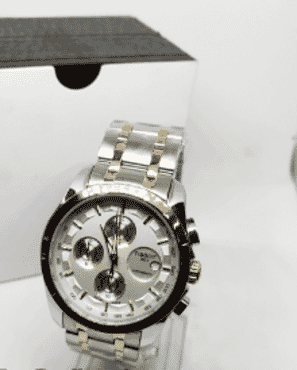 Men's Tissot Gold And Silver Chronograph Wrist Watch